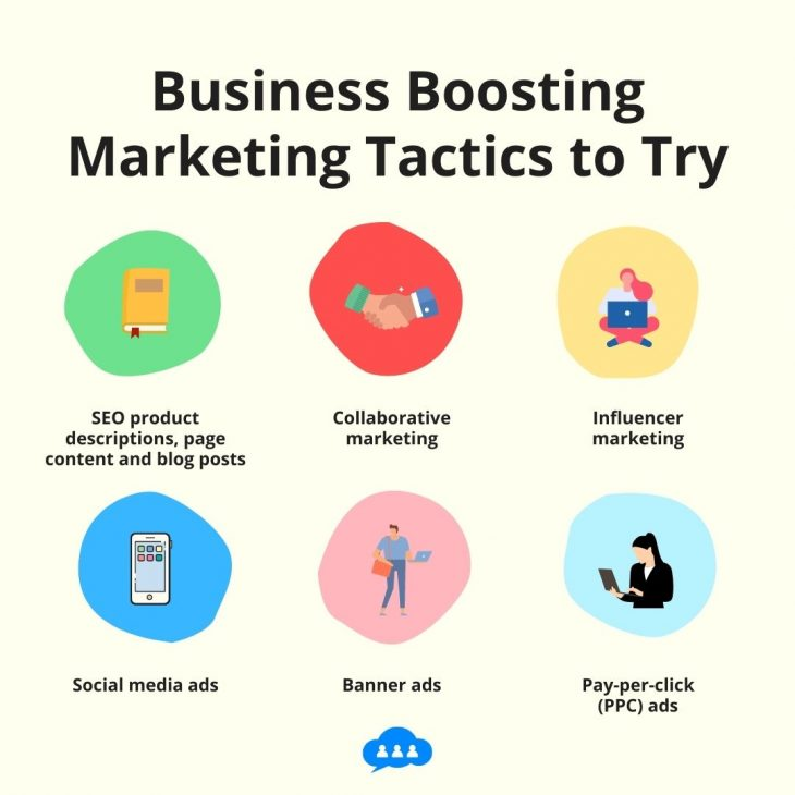 Business boosting marketing tactics to try