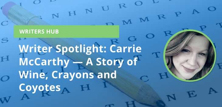 Carrie McCarthy Writer Spotlight