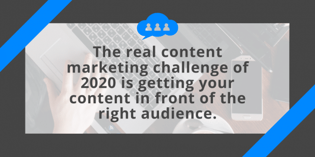 Image showing content marketing challenge