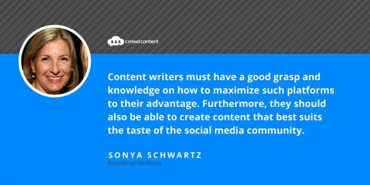 Sonya Schwartz Quote