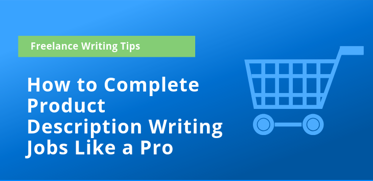 Cover image for post on product description writing jobs