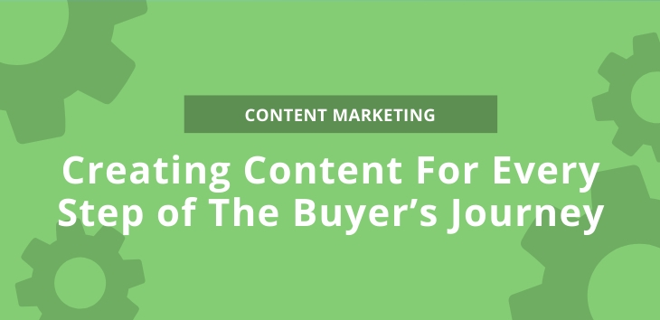 Creating Content For Every Step of The Buyer's Journey