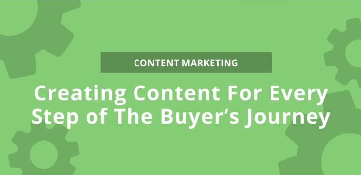 Image showing Creating Content For Every Step of The Buyer's Journey