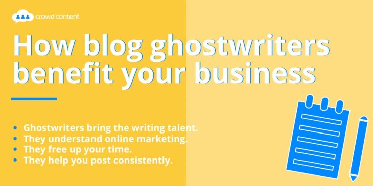 How blog ghostwriters benefit your business