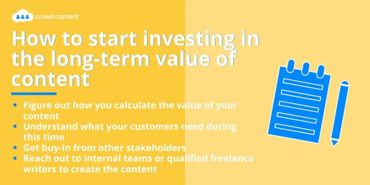 How to Invest in the Long-Term Value of Content