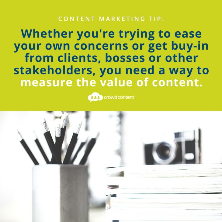 How to Measure the Value of Content