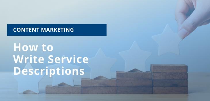 How to Write Service Descriptions