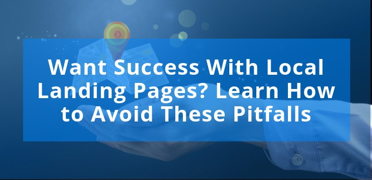 Image showing success with local landing pages
