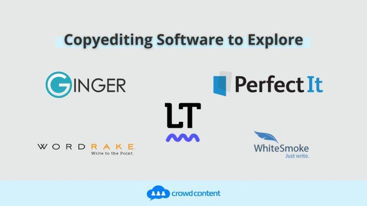 More copyediting software to explore