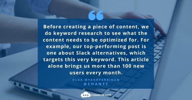 B2B Content Marketing Tip