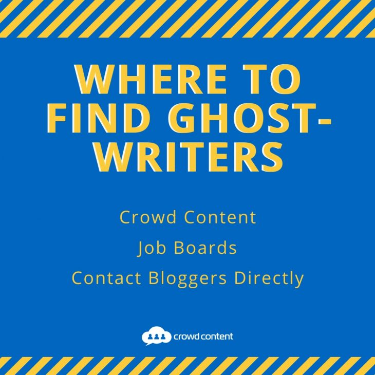 Where to Find Ghostwriters