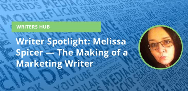 Writer Spotlight Melissa Spicer