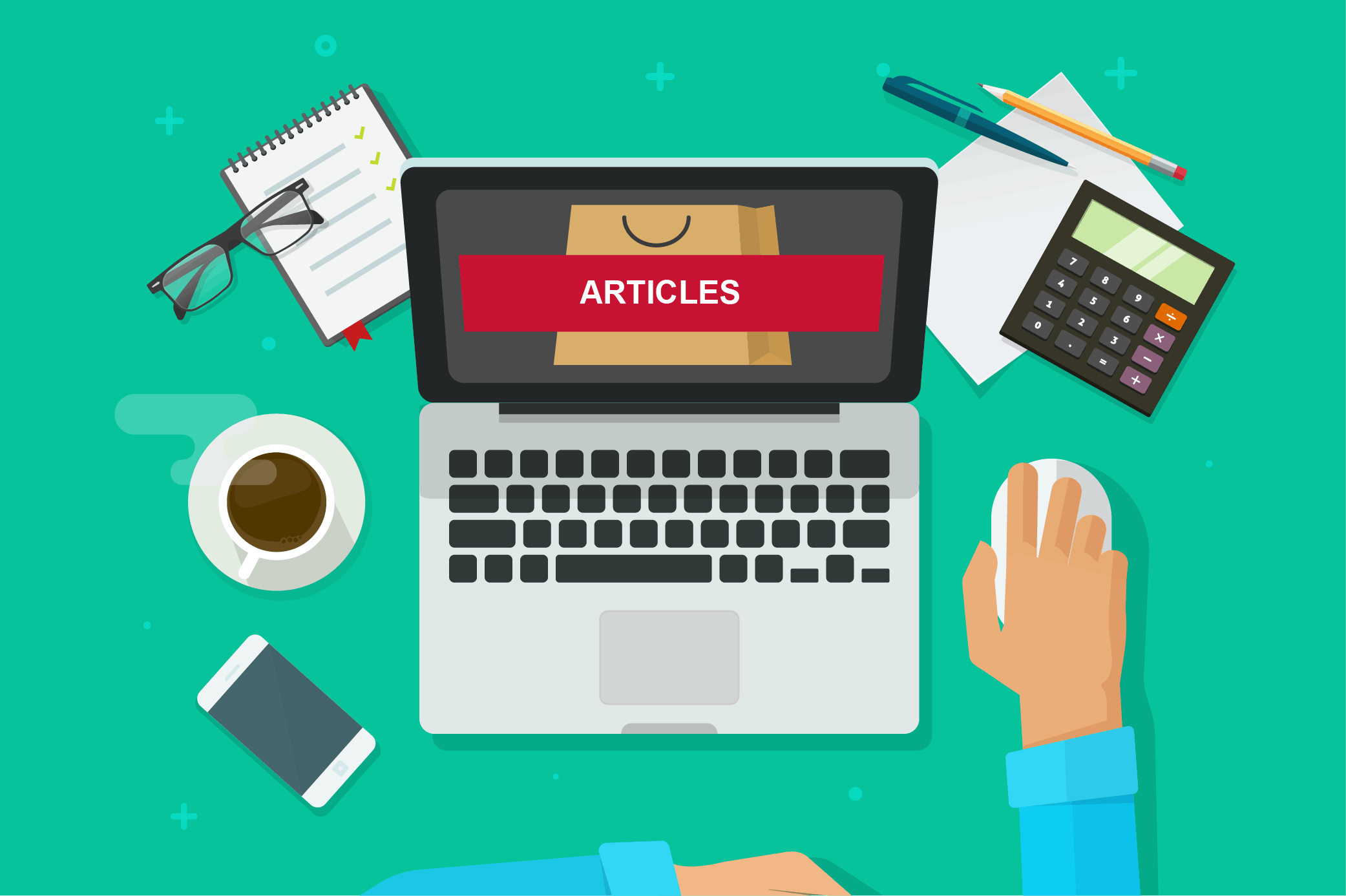 Cover image for article on buying pre-written articles
