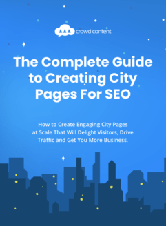 Cover image for ebook on creating city pages