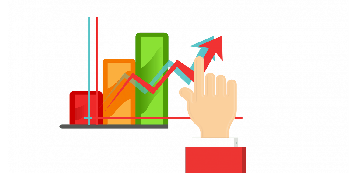 Hand showing Advanced Methods for Increasing Website Traffic
